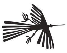 Glass Decor no.UL1047 Nazca Lines Condor Glass Tattoo Window Decal America Peru | eBay