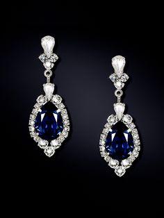 Haute Bride Chandelier Earrings with Teardrop | Chandelier ...
