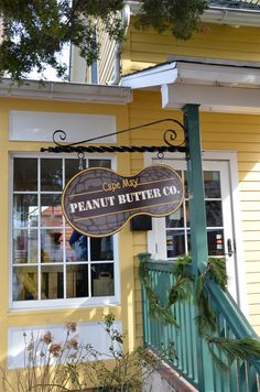Cape May Peanut Butter Co. Great Shop in Cape May, New Jersey. Homemade Peanut Butter!