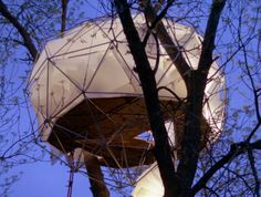 Geodesic Dome Tree House