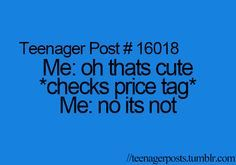 This explains my shopping sprees exactly!