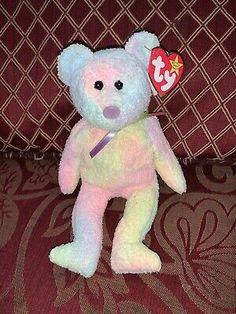 Retired Beanie Baby groovy beanie baby 1999 Rare With Error Vintage Beanie Baby  | eBay