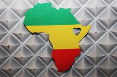 Our Heart in Ethiopia decorative vinyl decal with the by erbare74, $10.00