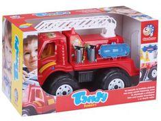 Caminhão de Bombeiro Tandy Bombeiro - Brinquedos Cardoso com as melhores condições você encontra no Magazine Tiozao007. Confira!