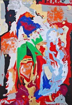"Saatchi Art Artist Andrea Marchesini; Painting, ""Calibano"" #art"