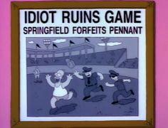 Eye On Springfield is a retrospective of Simpsons hilarity spanning from seasons 1 to when it was still funny. Submit your favorite moments. Funny Ads, Batman, Homer Simpson, Human Condition, The Simpsons, Way Of Life, Memes, Family Guy, Animation
