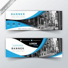 blue wavy business website banners Source by Fb Banner, Event Banner, Brochure Layout, Brochure Design, Portfolio Layout, Vintage Logos, Design Portfolios, Company Profile Design, Banner Design Inspiration