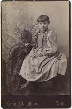 Girl and cat by akrausha, via Flickr