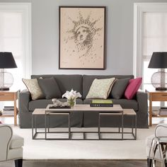Charmant Ethan Allen Living Room. Ethan Allen Furniture. Hudson Sofa, Living