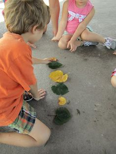 Exploring, Sorting and Making Patterns with Leaves.   This is my new blog which chronicles our Nature Club, Little Nature Explorers' Club.  I just started posting our activities, but will try to post weekly.  Great ideas to do with your own preschooler/early elementary age child.