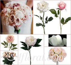 ... fall wedding bouquets ...   Lisa's Blush and Cream Inspiration