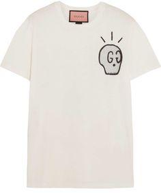 f3fa111d2 GucciGhost GG Diamond t-shirt | Lounge in 2019 | Mens printed shirts, Shirts,  Polo t shirts