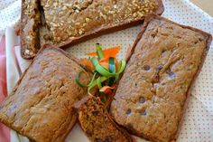 Trio of Zucchini carrot bread gluten free easy spices amazing chocolate chips nuts