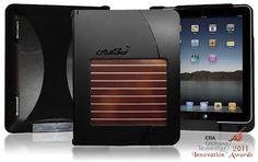 Kudo Solar Charging iPad Case for All Apple iPad Versions