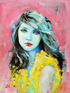 emma uber art | ... Emma Uber creates an incredibly expressive portraits of women