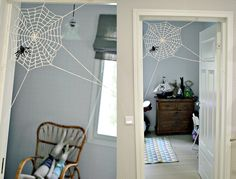 spiderweb at Niittylän Lapset