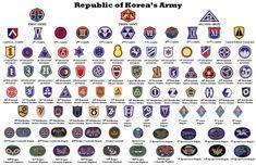 ROK Army Unit Insignia
