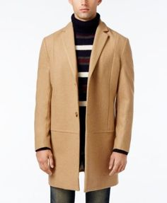 American Rag Men's Traditional Notch Collar Peacoat, Only at Macy's--I love this one for a few reasons 1) price and 2) great lines/seaming and 3) can be worn casually or dressy