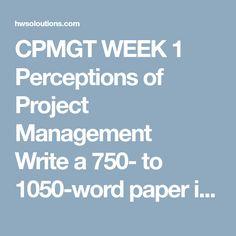Cpmgt  Week  Breaking Down The Work Cpmgt  Week  Breaking