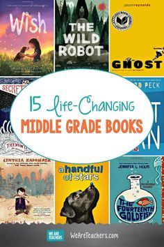15 Life-Changing Middle Grade Books. Sometimes finding books for kids in the middle grades (4-9) can be tricky, especially if you're looking for well-written, engaging, stories. #middleschool #books #reading