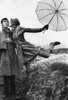 Photo: French film director Just Jaeckin. Model: Willy van Rooy. Vogue UK, October 1967.