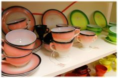 Some more hard to find and discontinued colors of Fiestaware available at Brandywine General Store and at BrandywineGeneralStore.com #fiesta #fiestaware #wvglass