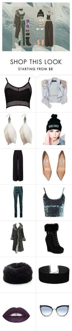 """""""Untitled #153"""" by jack-rabbit on Polyvore featuring Boohoo, Shakuhachi, Wet Seal, The Ragged Priest, Miss Selfridge, Jimmy Choo, Ann Demeulemeester, Topshop, Green Lamb and Soia & Kyo"""
