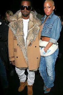 1990's Kanye West & Amber Rose