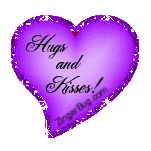 Purple Kisses | Copy the code above and paste into the html design view of any profile ...