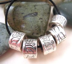 15 Antiqued Silver Spacer Beads Lead Free Silver by EthnicBeadShop, $4.40