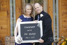 You can customize your chalkboard photo at Elope Niagara