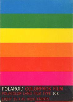 Original Polaroid Branding by Paul Giambarba