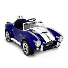 Shelby Cobra 6 Volt Ride-On - Blue 349.99