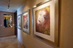 Art Gallery Hallway - Dale Hanson Photography contemporary hall.