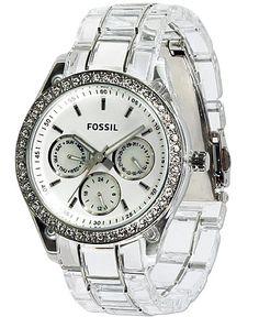 Fossil Plastic Watch