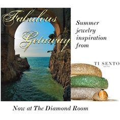 """Ti Sento - Portofino Summer"" by the-diamond-room on Polyvore"