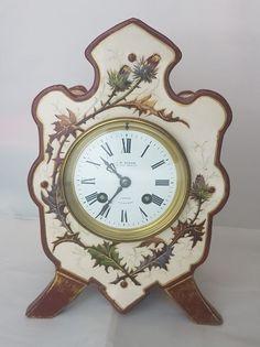 J.W. BENSON LONDON JAPY FRERES 8 DAYS ALARM BELL FRENCH MANTEL CLOCK   | eBay
