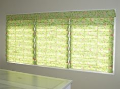 window treatments, roman shades | Hobbled Roman Shades.jpg from AAA Blinds and Window Fashions in ...