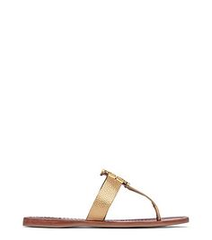 5abc128861b1 TORY BURCH MOORE METALLIC THONG SANDALS.  toryburch  shoes   Flat Sandals