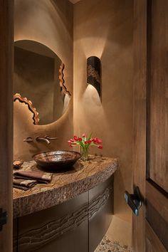 Southwest Bathroom Design Ideas - Love this!