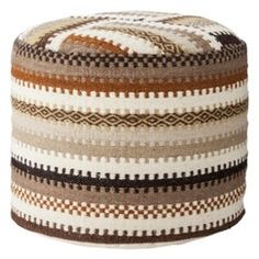 in the office? Cant remember if this is the same one i saw at target.... Nate Berkus Woven Foot Stool Pouf