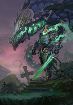 041014 by SchastnySergey ghost zombie dracolitch dragon cemetery | NOT OUR ART…