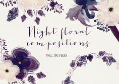 Night flowers - Illustrations - 1