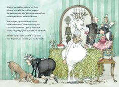 "Spread from the new children's book ""The Unruly Queen"", by the lovely and talented Ms E.S. Redmond."