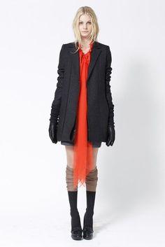 vera wang pre-fall 2012. love it all, down to the socks.