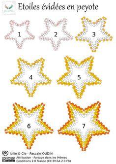 Tuto étoile en peyote