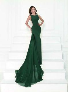 Wonderful Tulle   Chiffon Bateau Neckline Sheath Evening Dresses With Lace… 60f15c64f4cc