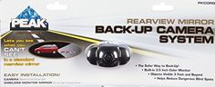 Car Mirror: Small Rear View Mirror With Easy Installation Feature, Built-in Backup Camera