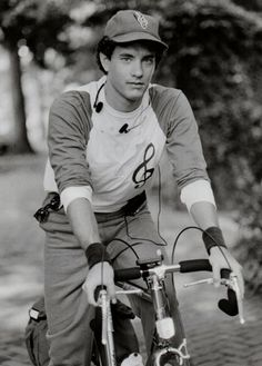 Tom Hanks rides a bike, musically.