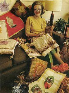 Sylvia Sidney's Needlepoint (1968)